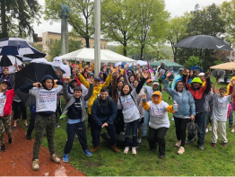 Hike for Hope – From the Rain Comes a Rainbow