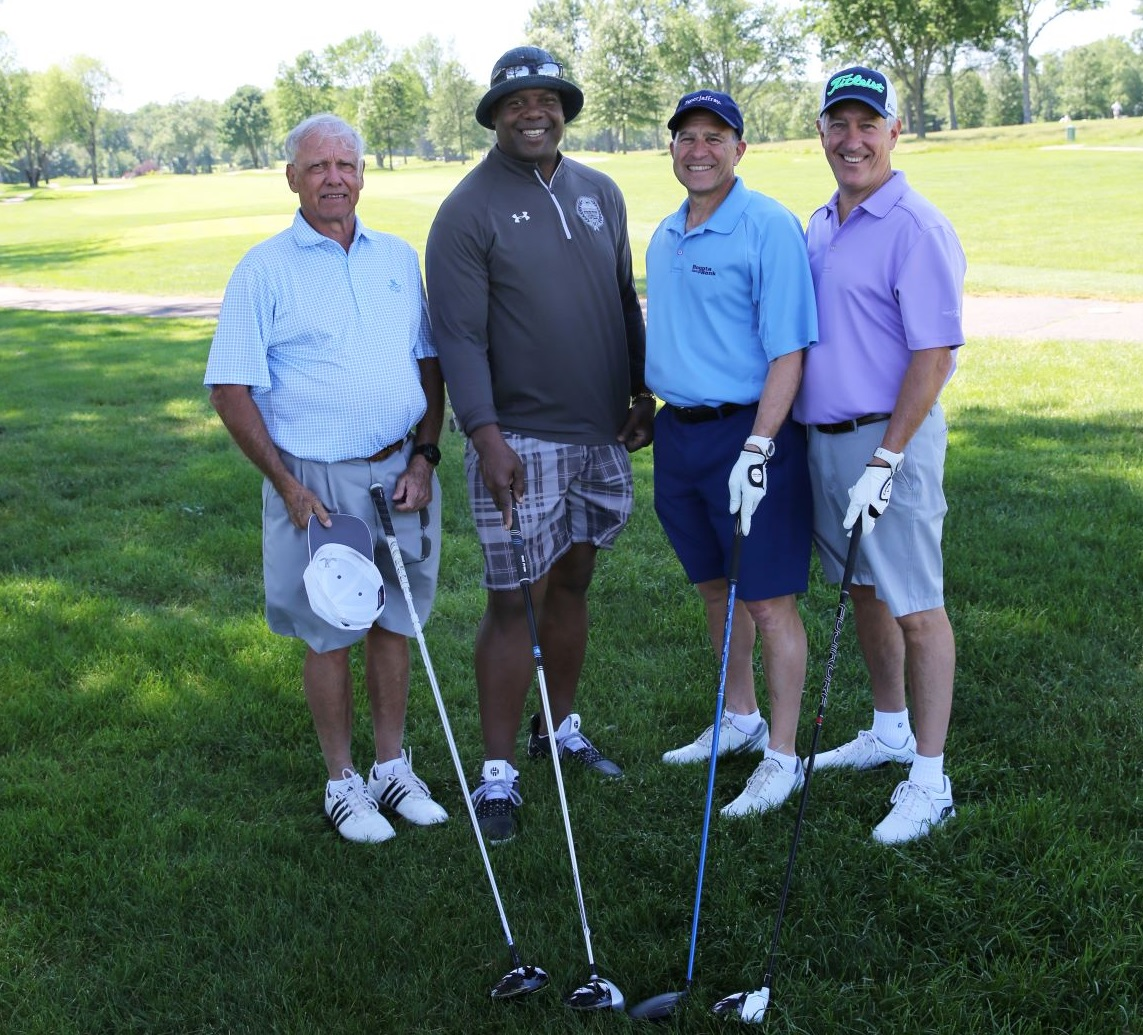 Bergen Family Promise golf outing foursome