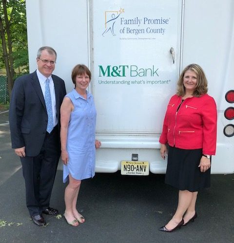 M&T Bank Continues Support of Family Promise Bus